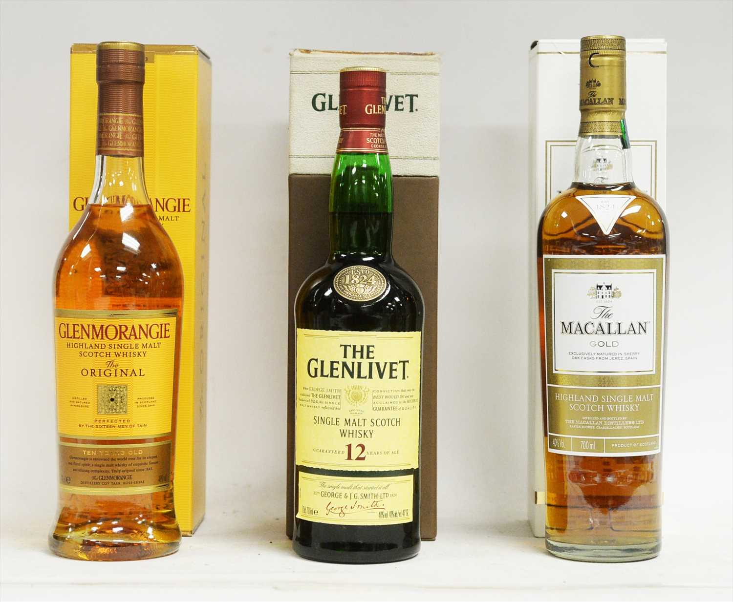 Lot 341-Three bottle of whisky