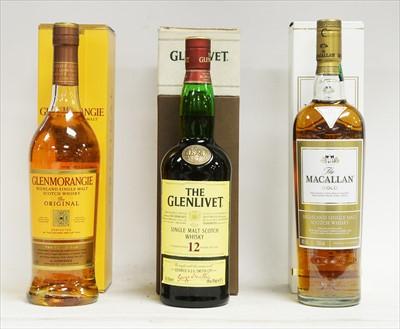 Lot 341-Three bottle of whisky