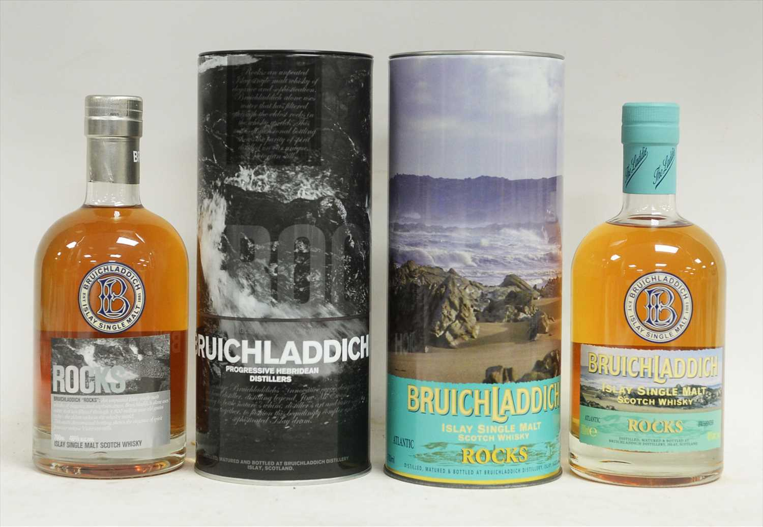 Lot 342-Two bottles of Bruichladdich