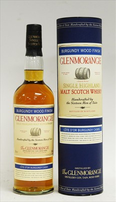 Lot 344-A bottle of Glenmorangie