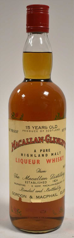 457a - Macallan-Glenlivet 15