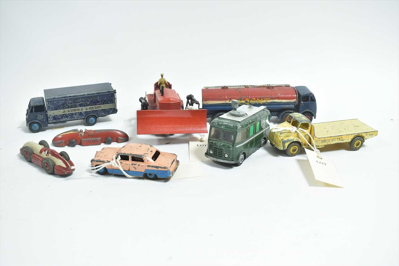 Lot 155-Play worn diecast model vehicles