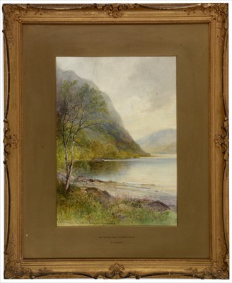 Lot 995-Emil Axel Krause - watercolour
