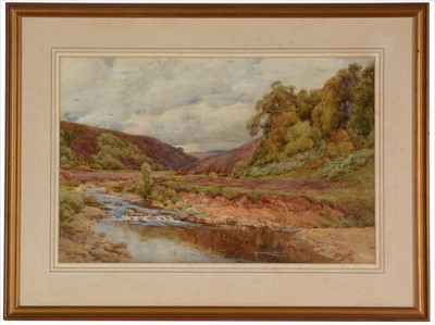 Lot 994-John Hodgson Campbell - a watercolour