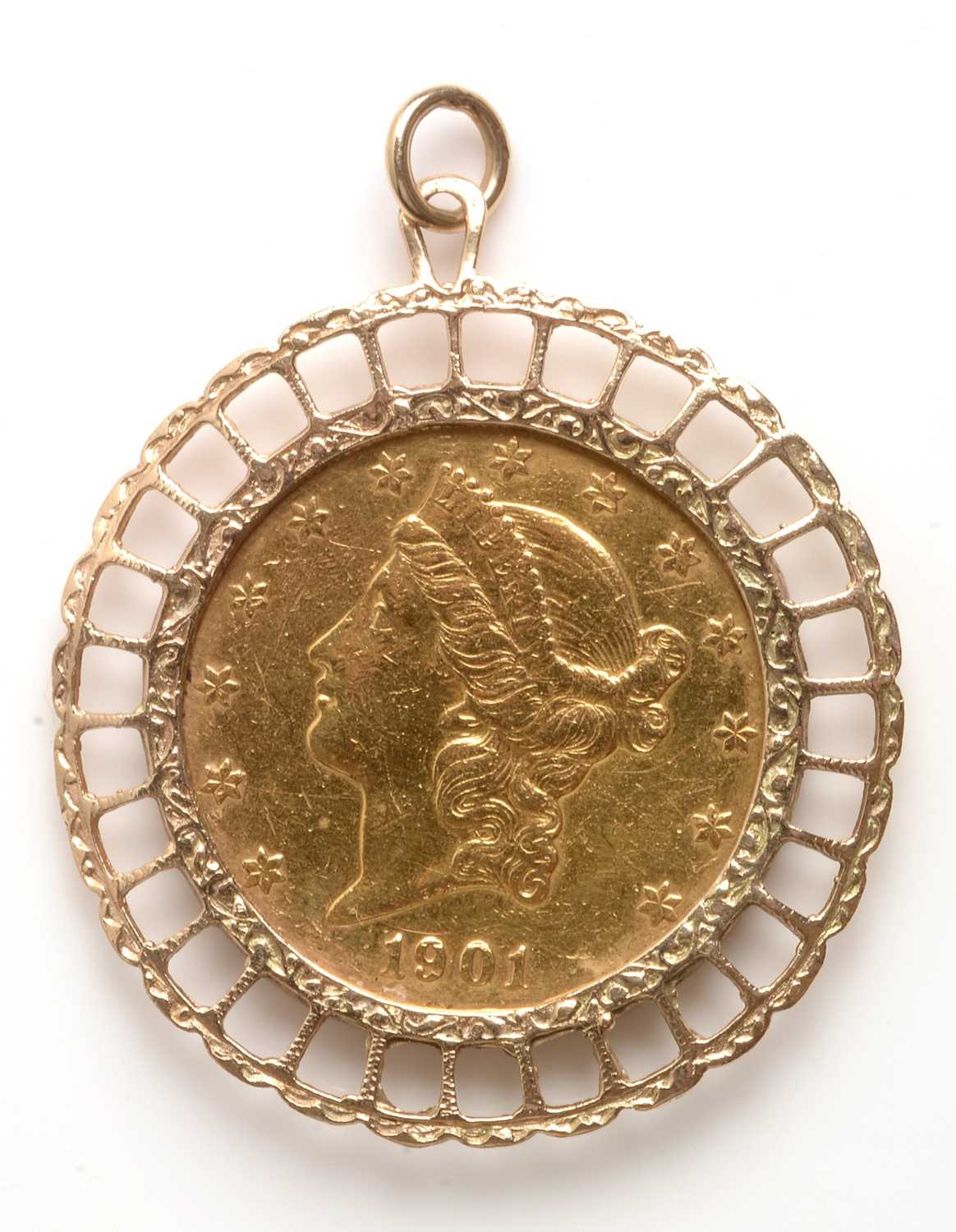 Lot 155 - Twenty Dollar pendant