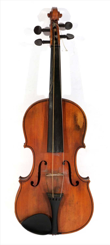 Lot 110-Francesco Scappio Violin 1904