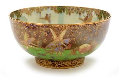 Lot 467 - Wedgwood fairyland lustre bowl