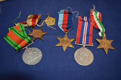 Lot 24-Second World War medals