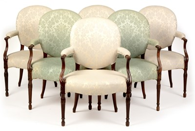 Lot 1062-Salon Chairs
