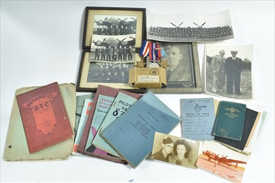 Lot 1205-The RAF military effects of Thomas Allen, Flight Engineer, RAF