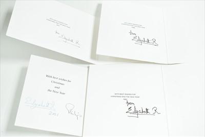 Lot 1001-Royal interest Christmas cards