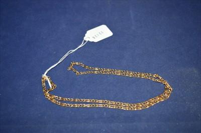 Lot 20-Yellow metal chain