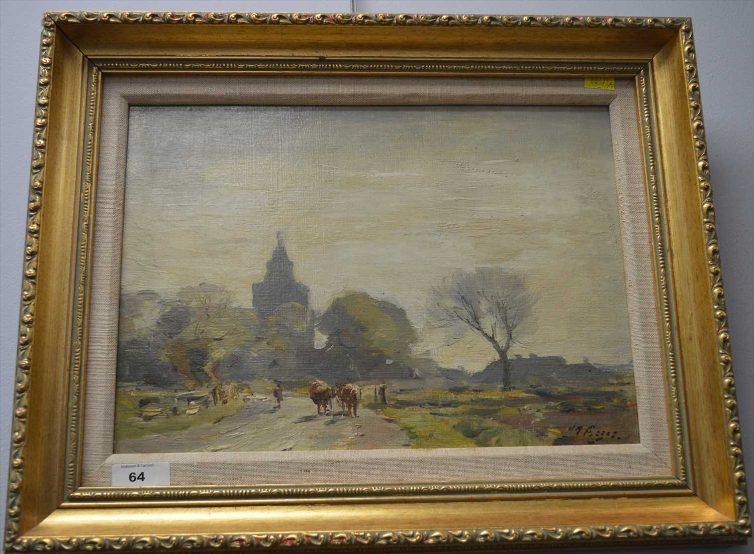 Lot 64-William Miller Frazer, RSA - oil.