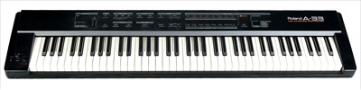 Lot 26-A Roland A33 Keyboard and stand