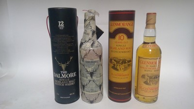 Lot 814-Two whiskies