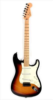 Lot 74 - Fender American Deluxe Stratocaster
