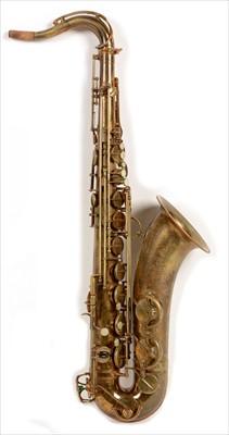 Lot 128 - Selmer balanced action tenor saxophone.