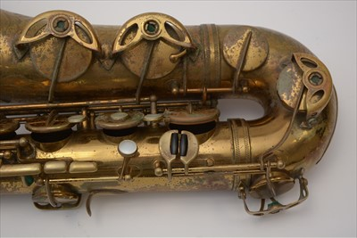 Lot 129 - Selmer super balanced action tenor saxophone