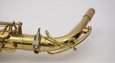 Lot 130-Selmer super action alto saxophone