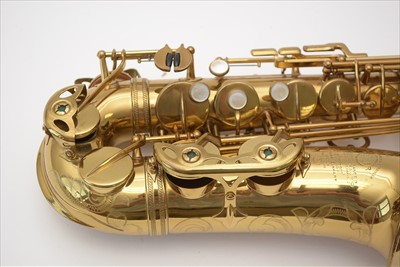 Lot 131-Selmer VI alto saxophone