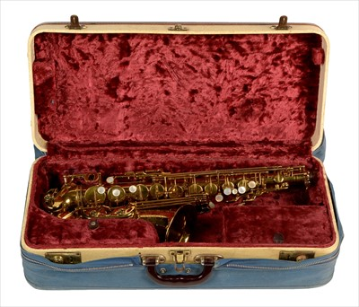 Lot 131 - Selmer VI alto saxophone