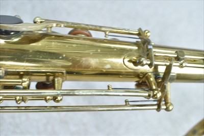 Lot 132-Selmer VI tenor saxophone