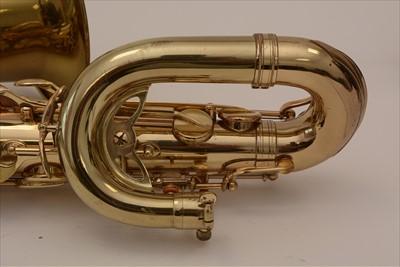Lot 133 - Selmer VI Baritone saxophone low A