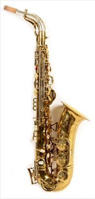 Lot 135 - King Super 20 series I alto saxophone