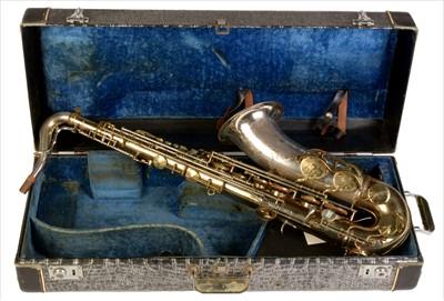 Lot 138 - King Super 20 Silver Sonic tenor saxophone