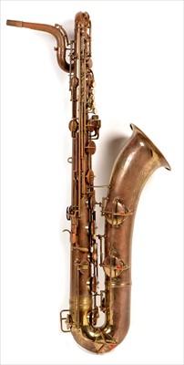 Lot 140 - Conn 12M baritone saxophone