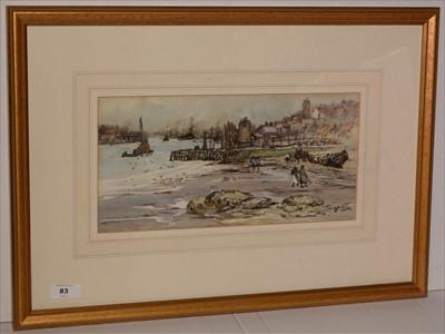 Lot 83-Thomas Swift Hutton - watercolour.