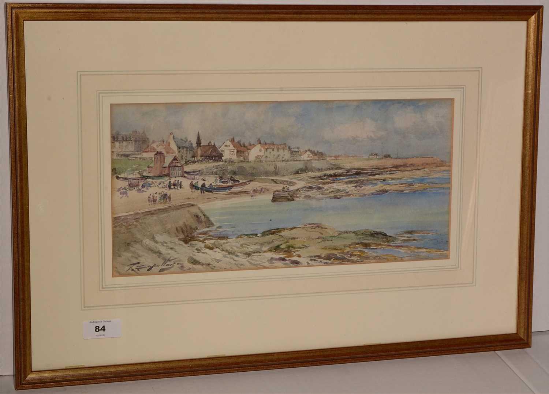 Lot 84-Thomas Swift Hutton - watercolour.