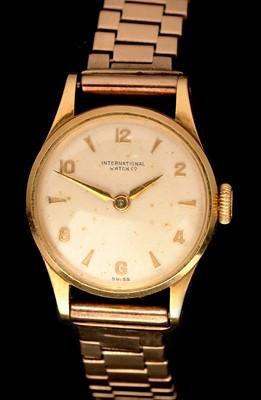 Lot 24 - International Watch Company cocktail watch