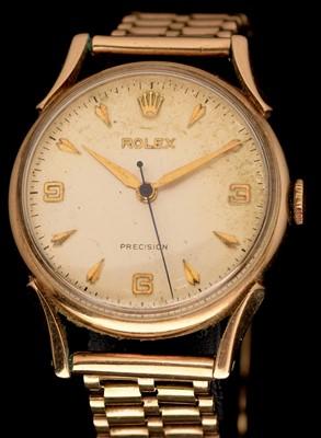 Lot 25 - Rolex 9ct gold watch