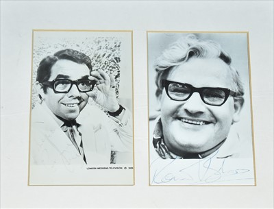 Lot 1009-The Two Ronnies autograph