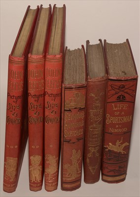 Lot 806-Sporting and Humorous Books.