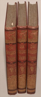 Lot 807-Dr. Syntax's Tours Book.