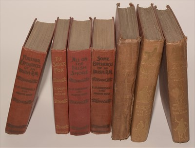 Lot 808-Sporting Books and Novels.