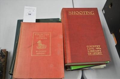 Lot 94 - Sporting Books.