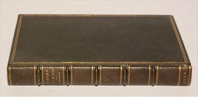 Lot 837-Fables of Aesop Book.