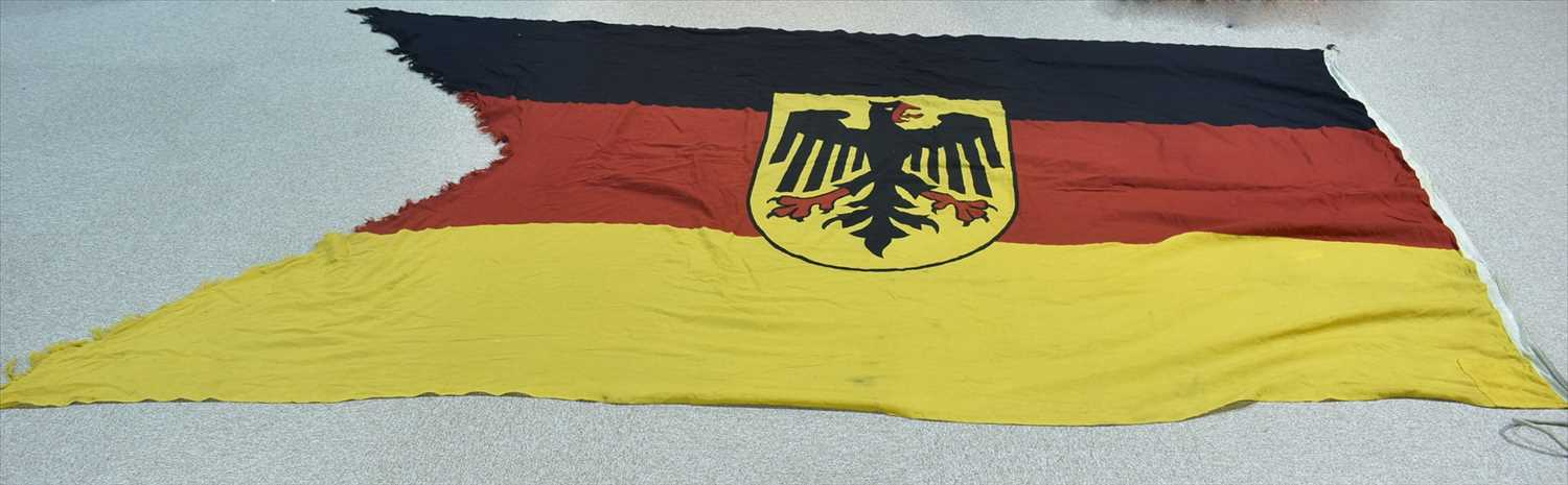 Lot 982-Federal Republic of Germany naval ensign