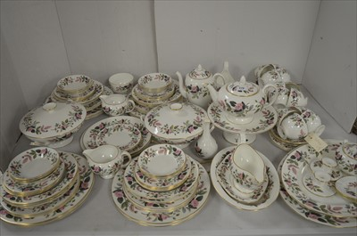 Lot 170-Wedgwood Hathaway Rose