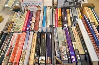 Lot 161-Military history books