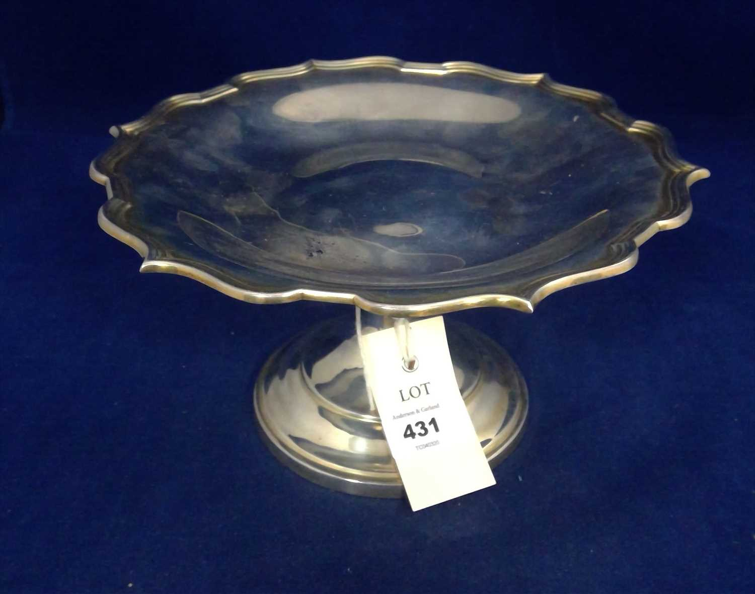 Lot 431-Silver tazza