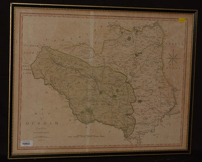 Lot 1003-J* Cary - map.