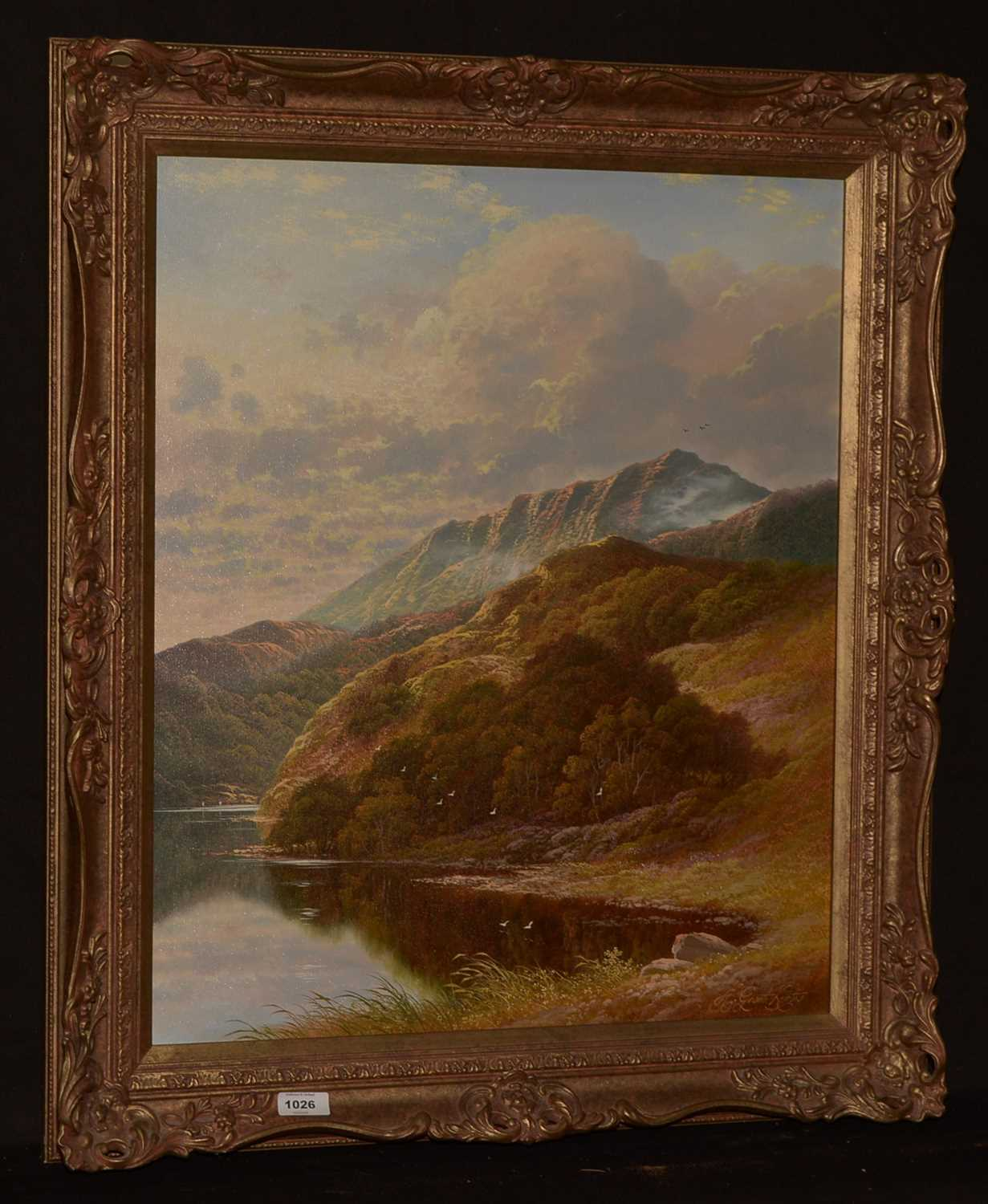 Lot 1026-Andrew Grant Kurtis - oil.