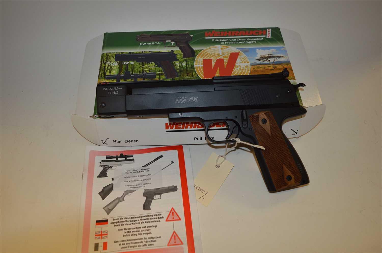 Lot 52-Air pistol