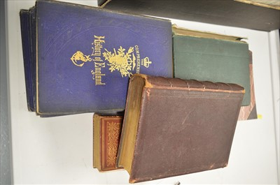 Lot 97 - Charles MacFarlane, and Alfred Tennyson Books.