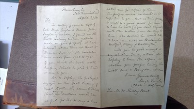 Lot 951-Manuscript ledger appertaining to the Blagdon Estate, Northumberland.