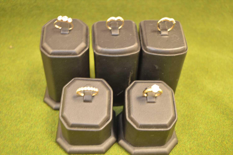 Lot 43-Five rings
